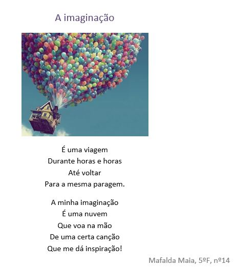 Bilderesultat for poema sobre a imaginacao